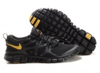 Mens Nike Free 3.0 V3 Black Yellow
