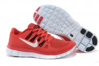 Mens Nike Free 5.0 V2 Red Black