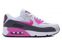 Womens Nike Air Max 90 Premium White Purple