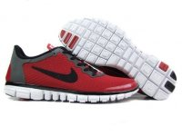 Womens Nike Free 3.0 V2 Red Grey