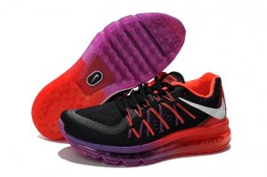 Womens Air Max 2015 Red Silver