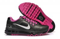 Womens Air Max 2013 Leather Black Rosa