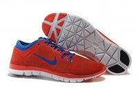 Mens Nike Free TR Fit Red Blue