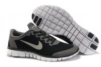 Mens Nike Free 3.0 V2 Black Grey