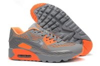 Mens Air Max 90 Ultra BR Cool Grey/Orange