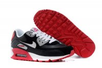 Womens Air Max 90 Black/Red/White