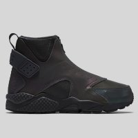 Nike Wmns Air Huarache Run Mid Premium Black Reflect
