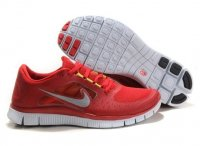 Womens Nike Free 5.0 V3 Red Silver