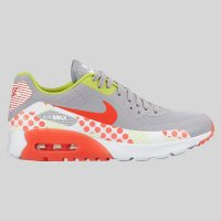 Nike Wmns Air Max 90 Ultra BR Print Wolf Grey Bright Crimson Cam