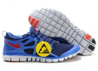 Mens Nike Free 3.0 V3 Blue Red