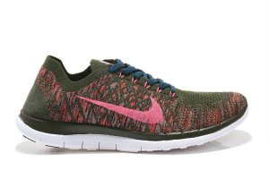 Womens Nike Free 4.0 Flyknit Colors Pink