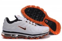 Mens Nike Air Max TN White Orange