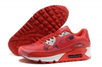 Womens Nike Air Max 90 Red/White