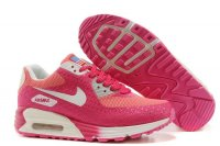 Womens Air Max 90 Hyperfuse Premium Red/White