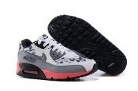 Mens Air Max 90 White/Grey/Pink