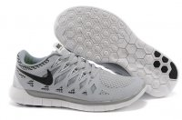 Mens Nike Free 5.0 Grey Black