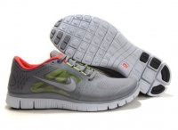 Womens Nike Free 5.0 V3 Grey Red