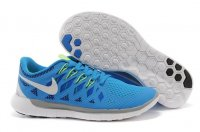 Mens Nike Free 5.0 Blue White