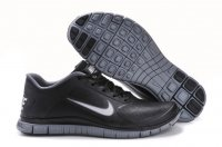 Mens Nike Free 4.0 V3 Leather Black White