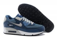 Mens Air Max 90 Navy Blue/Grey/White