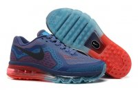 Mens Nike Air Max 2014 Black Ocean Blue