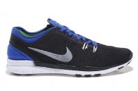 Mens Nike Free 5.0 V2 Training Black Blue