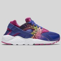 Nike Huarache Run Print (GS) Deep Night Force Pink