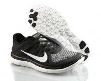 Mens Nike Free 4.0 White Black