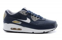 Mens Nike Air Max 90 Leather Navy