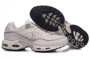 Mens Nike Air Max TN I White Silver