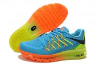 Womens Air Max 2015 Blue Yellow