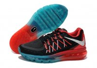 Womens Air Max 2015 Black Red
