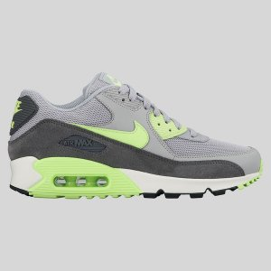Nike Wmns Air Max 90 Essential Wolf Grey Ghost Green