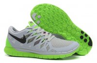 Womens Nike Free 5.0 Grey Green