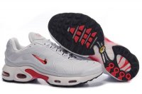 Mens Nike Air Max TN I White Crimson