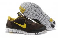 Womens Nike Free 3.0 Fur Coffee Yellow