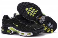Mens Nike Air Max TN I Black Green
