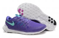 Mens Nike Free 5.0 Grey Purple