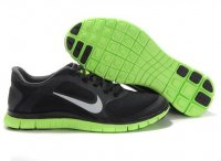 Mens Nike Free 4.0 V3 Black Green