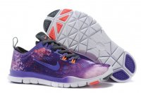 Womens Nike Free TR Fit Purple Black