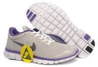 Womens Nike Free 3.0 Grey Purple