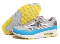 Mens Air Max 87 Silver Blue