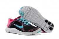 Nike Womens Free 4.0 V3 Black Blue