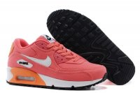 Womens Air Max 90 Pink/White/Orange