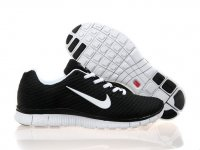 Mens Nike Free 5.0 Black White
