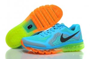 Mens Nike Air Max 2014 Sky Blue Green