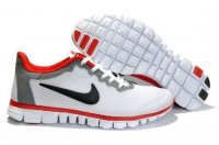Womens Nike Free 3.0 V2 White Grey