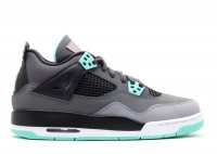 "air jordan 4 retro (gs) ""green glow"""