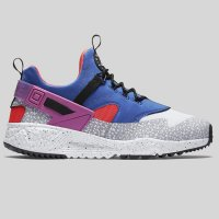 Nike Air Huarache Utility PRM White Varsity Royal Bright Crimson