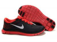 Mens Nike Free 4.0 Grey Red